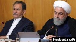 روحانی در جلسه هیئت دولت