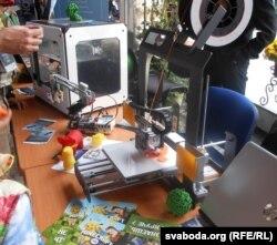 Замежны 3D-прынтар друкуе цацкі з экалягічнай цэлюлёзы