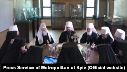UKRAINE -- Top figures in Ukraine's new Orthodox Church meet in a synod in Kyiv, May 24, 2019