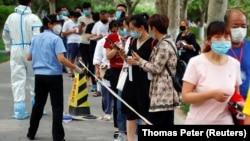مرکز تشخیص کرونا در چین