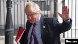 Поранешниот министер за надворешни работи Борис Џонсон