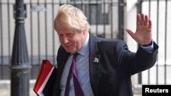 Бывший министр иностранных дел Великобритании Борис Джонсон.