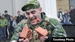 Эмоции военнослужащих российской армии не всегда направлены в нужное русло