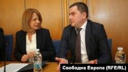 Кметовете на София Йорданка Фандъкова и на Перник Станислав Владимиров