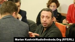 Геннадій Корбан під час засідання Дніпровського суду Києва, 28 грудня 2015 року