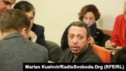 Геннадій Корбан у залі засідань Дніпровського районного суду міста Києва, 28 грудня 2015 року