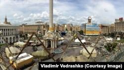 Киев, площадь Независимости, июль 2014