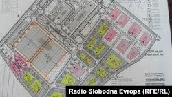 Индустриска зона во Прилеп.