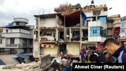 Зилзала кесепети. 25-апрель, 2015-жыл. Непал.