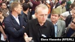 Олег Шеин во время голодовки против фальсификаций на выборах мэра Астрахани