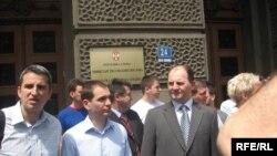Protest zbog Bajdenove posete, Foto: Radovan Borović