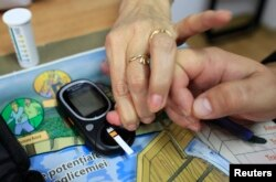 One diabetic told RFE/RL that the Saratov organization helped him control his lifestyle. (file photo)