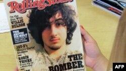 Обкладинка серпневого журналу Rolling Stone, яка обурила поліцейського фотографа Шона Мерфі