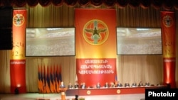 Armenia -- The ruling Republican Party holds a congress in Yerevan.