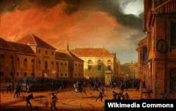 Панарама Марціна Залескага «Узяцьце варшаўскага арсэналу»