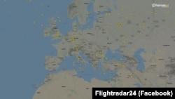 Европейское воздушное пространство - 6 апреля