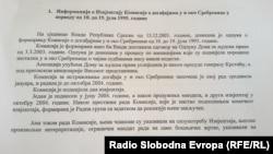 Iz informacije predsjednika RS o izvještaju o Srebrenici