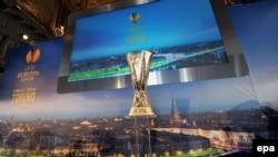Եվրոպայի լիգայի գավաթը, արխիվ, Թուրին, Իտալիա, 16 ապրիլի, 2014թ.