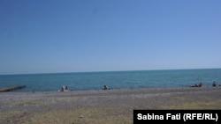 Abhazia, Georgia 2016: Plaja orașului, Suhumi