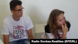 Валерий Тромпак и Алина Шеховцова