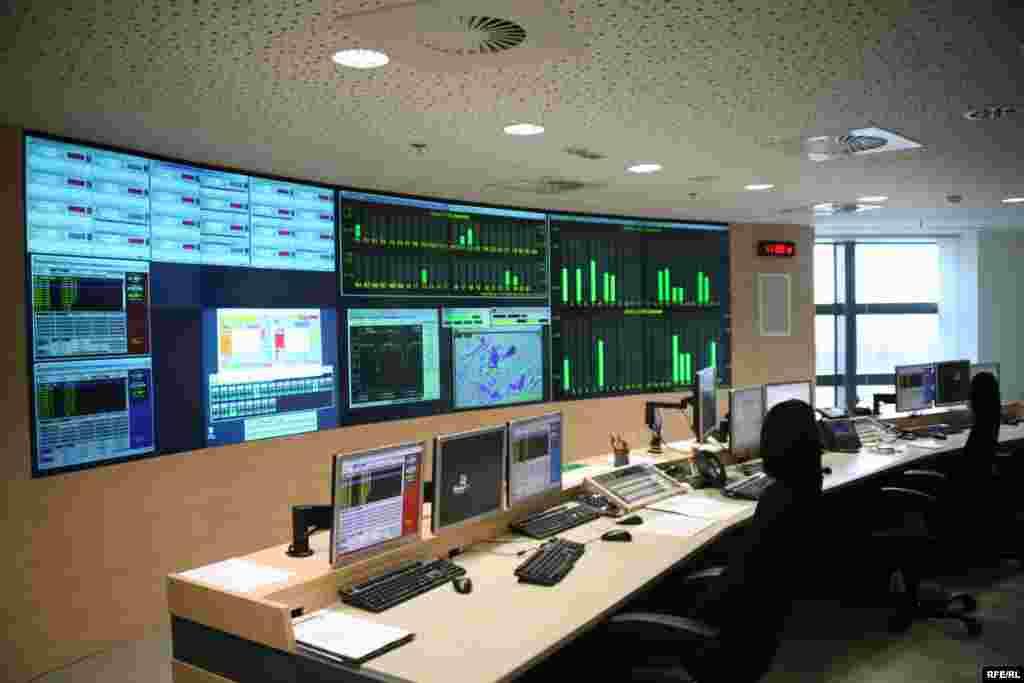 Glavna kontrolna soba u novoj zgradi RSE - control room