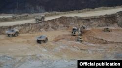 Թեղուտի հանքավայրի տարածքը, արխիվ