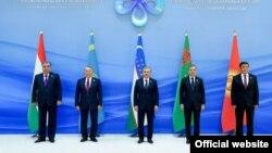 Президенты стран ЦА в Ташкенте, 29 ноября 2019 года.