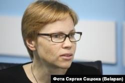 Marina Zolotova, redactorul șef al Tut.by