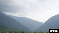 Аргунское ущелье. Чечня