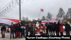 Дваровы марш у мікрараёне Сокал пад Менскам, 13 сьнежня