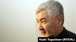 Саясаткер Әміржан Қосанов. Алматы, 6 желтоқсан 2012 жыл.