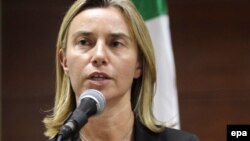 Глава МИД Италии Федерика Могерини