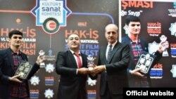 Türkiyədə keçirilən Hak-İş Beynəlxalq Qısa Film Festivalında.