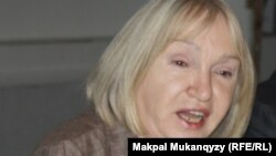 Тамара Калеева, президент прессозащитной организации «Адил соз».