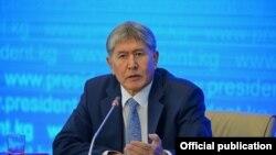 Алмазбек Атамбаев. 24-декабрь, 2015-жыл