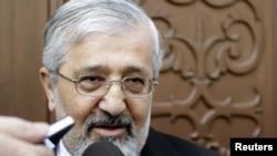 Тегеранның Атом энергетикасы жөніндегі халықаралық агенттіктегі (МАГАТЭ) өкілі Али Ашгара Солтание. Вена, 15 мамыр 2012 жыл.