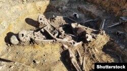 Віднайдені людські останки на території колишньої Дрогобицької тюрми