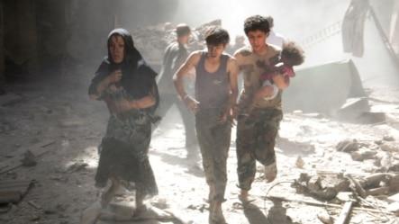 سازمانهای بینالمللی بارها از حملات با بمبهای بشکهای انتقاد کردهاند