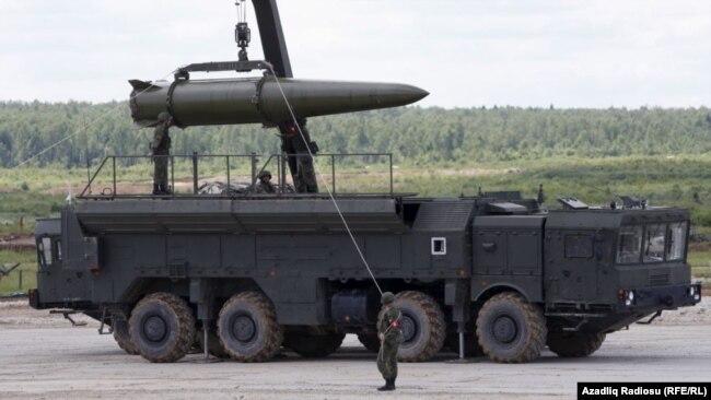 Raketa ruse Iskander
