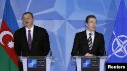 İ.Əliyev və A.Rasmussen, 15 fevral 2012