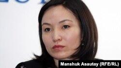 Stan.kz видео-порталының продюсері Жұлдыз Төлеу. Алматы, 11 қаңтар 2012 жыл.