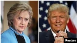 Donald Trump dhe Hillary Clinton