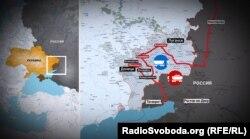 Після так званої «блокади» Росія налагодила постачання сировини на захоплені металургійні заводи, в тому числі в Алчевську і Єнакієвому