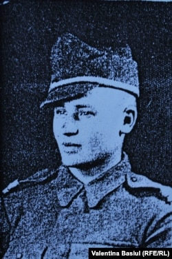 Petru Ciobanu elev la Școala Militară de la Sibiu, când avea 21 de ani