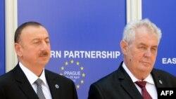 İlham Əliyev və Milos Zeman