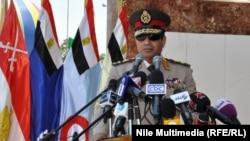 Министр обороны Египта Абдель Фаттах ас-Сиси