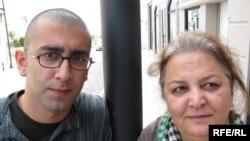 مهین فهیمی و امید منتظری؛ مادر و فرزندی که هر دو بازداشت شدهاند