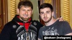 Нохчийчоьнан куьйгалхо Кадыров Рамзан а, иллиалархо Бакаев Зеламха а