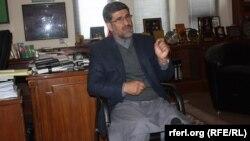 شهاب الدین حکیمی یک تن از نامزدان انتخابات ریاست جمهوری افغانستان