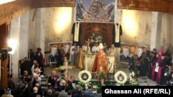 اربعينية ضحايا تفجير كنيسة سيدة النجاة ببغداد